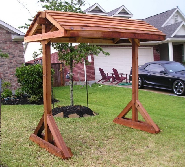 Free Standing Porch Swing Plans