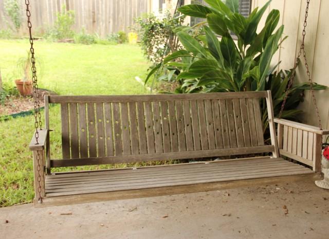 Freestanding Porch Swing Plans