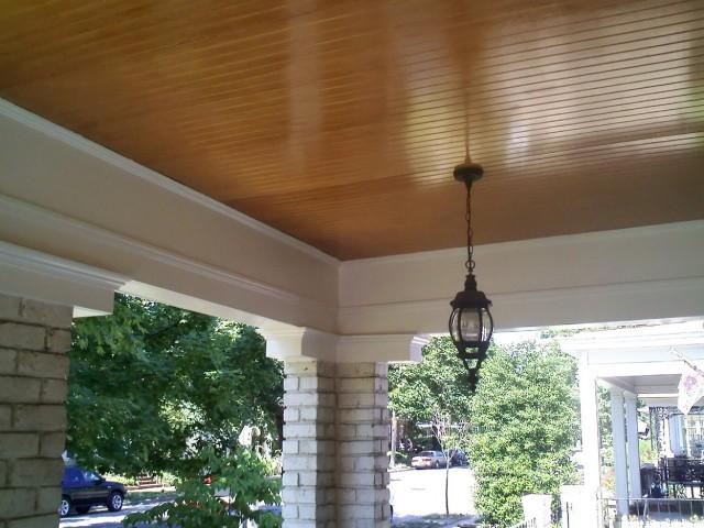 Front Porch Ceiling Ideas
