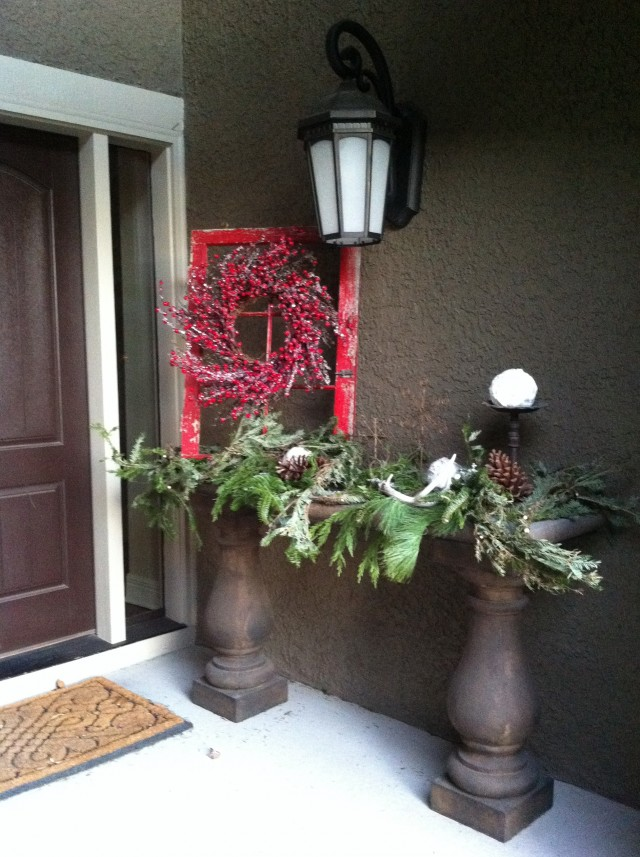 Front Porch Decorations For Winter