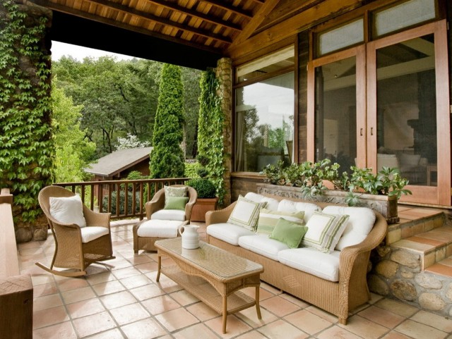 Front Porch Flooring Options
