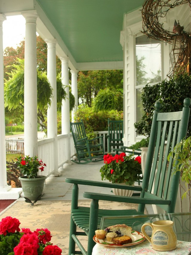 Front Porch Makeovers Before And After