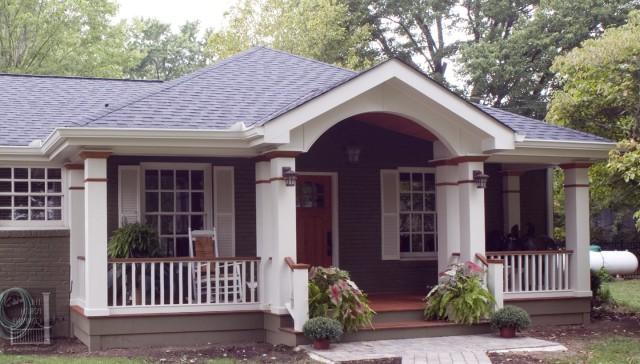 Front Porch Roof Ideas