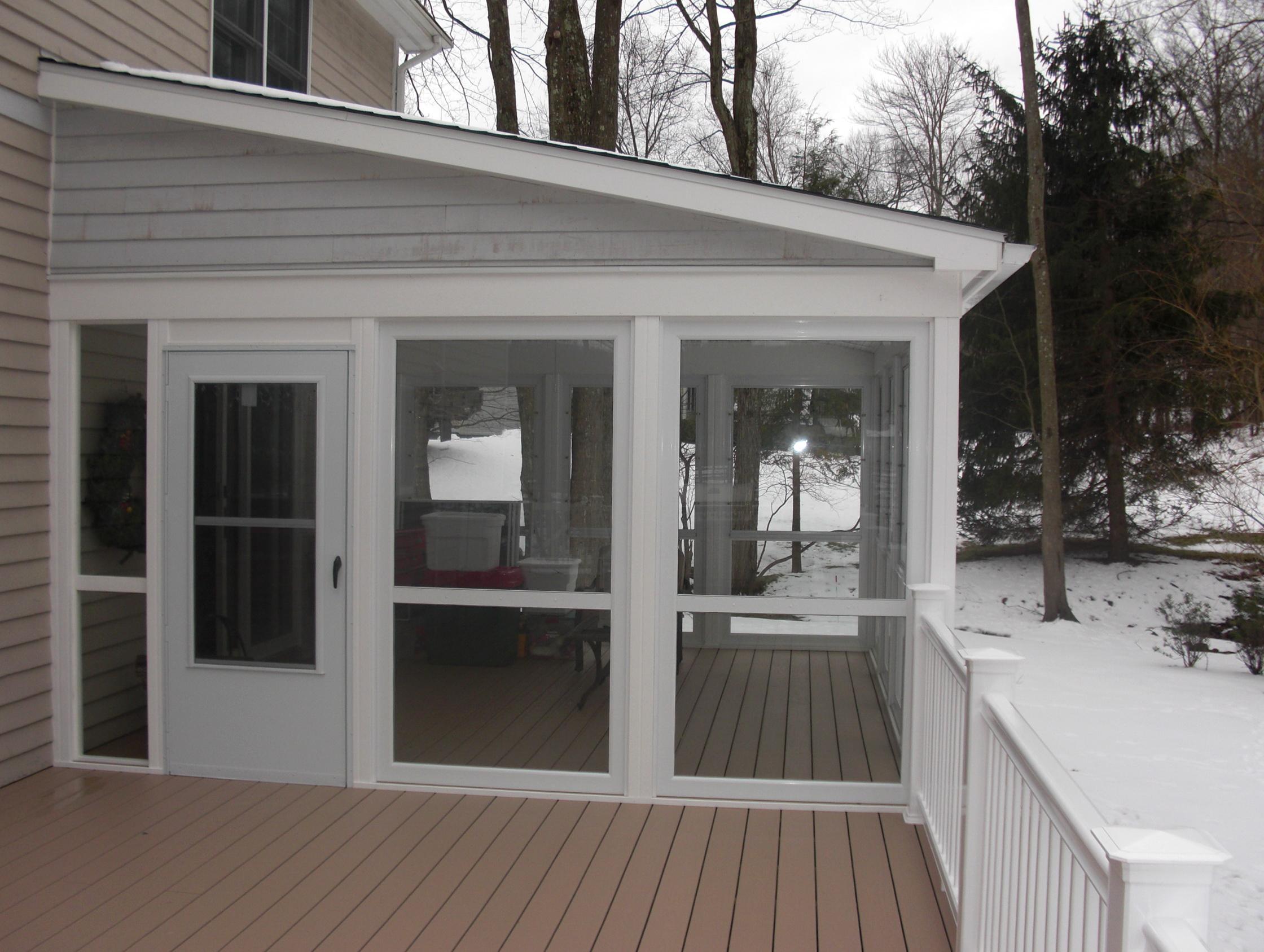 Glassed In Porch Cost Home Design Ideas