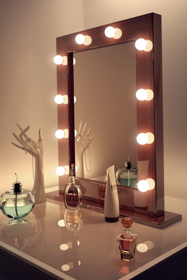 Hollywood Vanity Mirror With Lights Canada Home Design Ideas