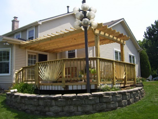 How To Build A Porch Canopy