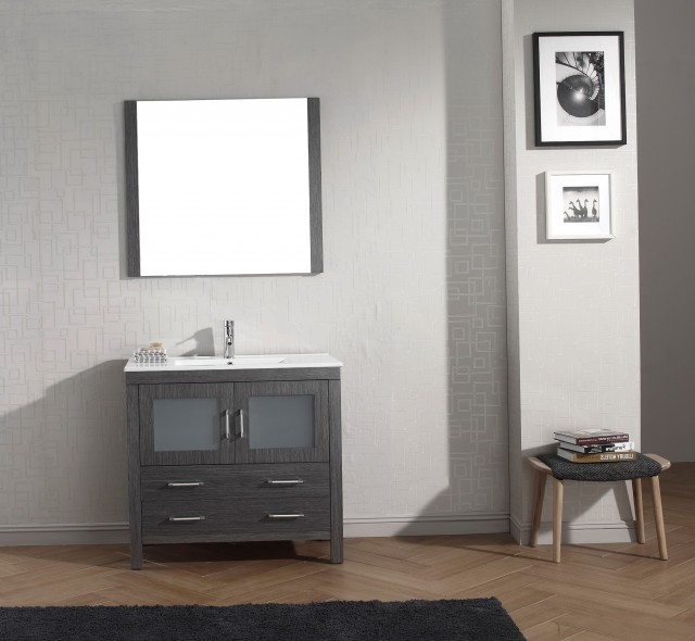 Ikea Bathroom Vanity Grey