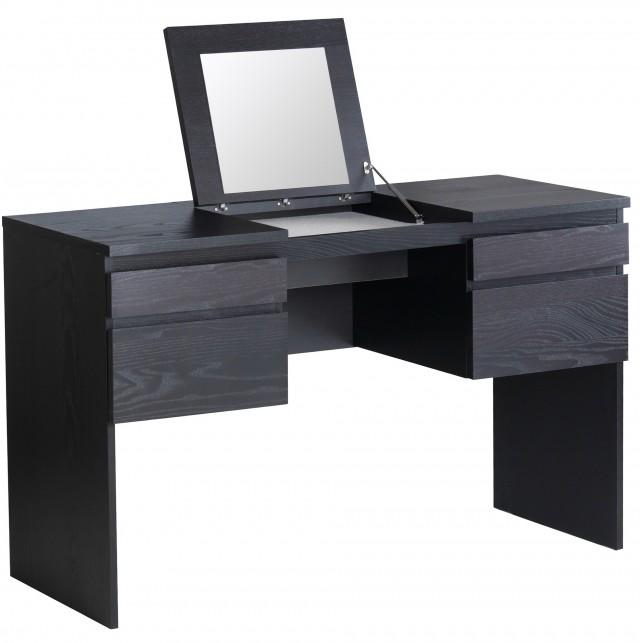Ikea Makeup Vanity Black