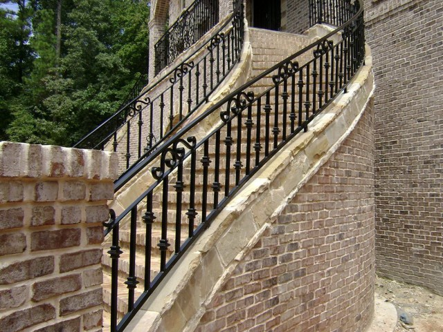 Iron Porch Stair Railing