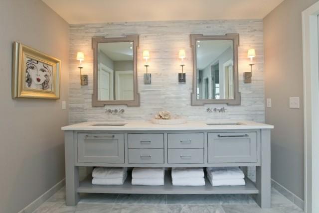 Light Grey Bathroom Vanity