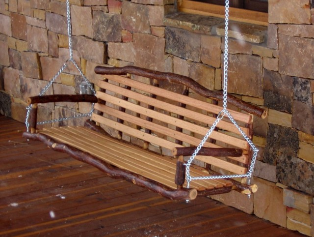Daybed porch swing plans home design ideas for Log swing plans