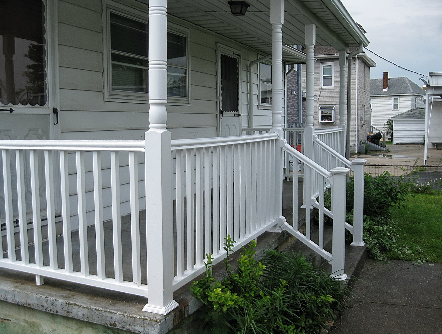 Lowes Porch Railing Materials Home Design Ideas