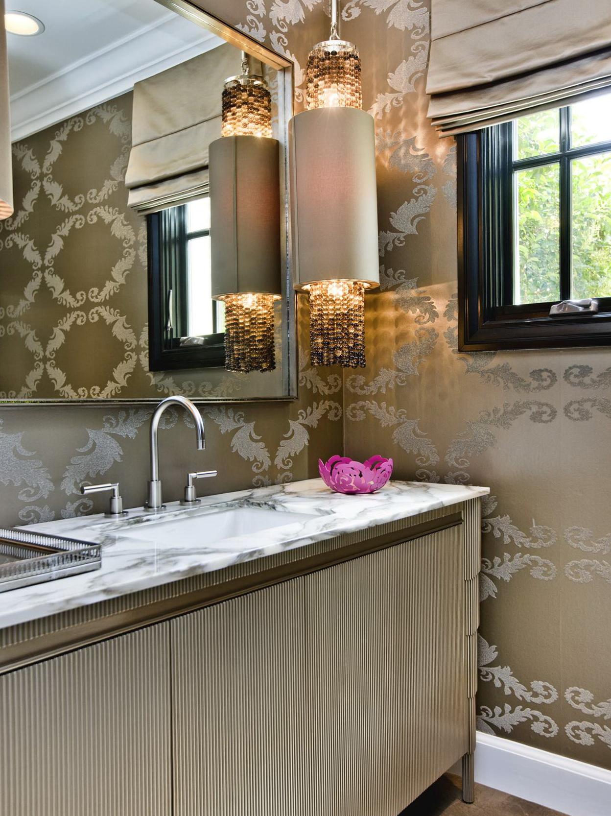 luxury powder room vanities home design ideas