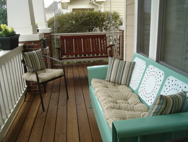 Metal Porch Glider Swing