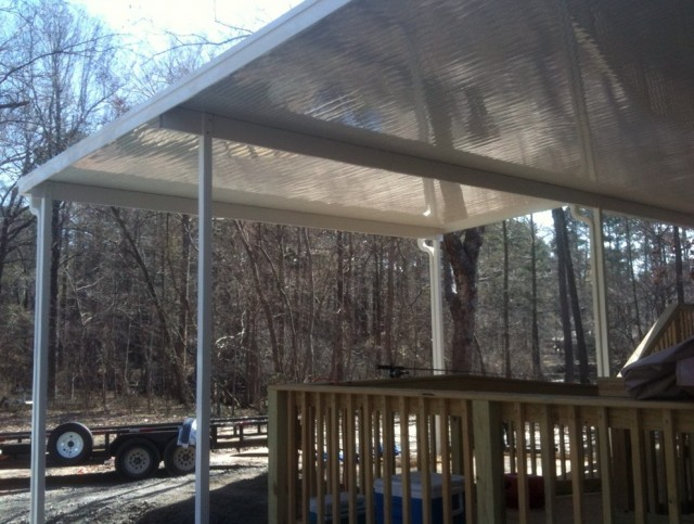 Metal Roof Porch Covers