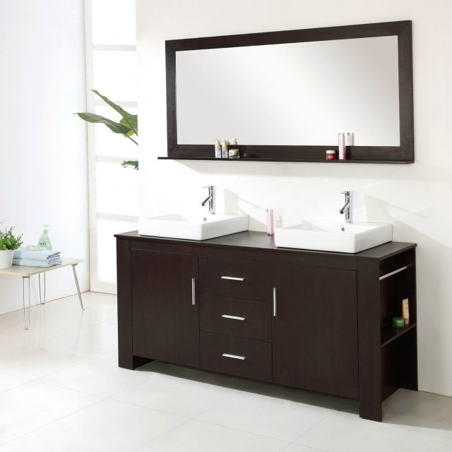 Modern Bathroom Vanities Double Sink