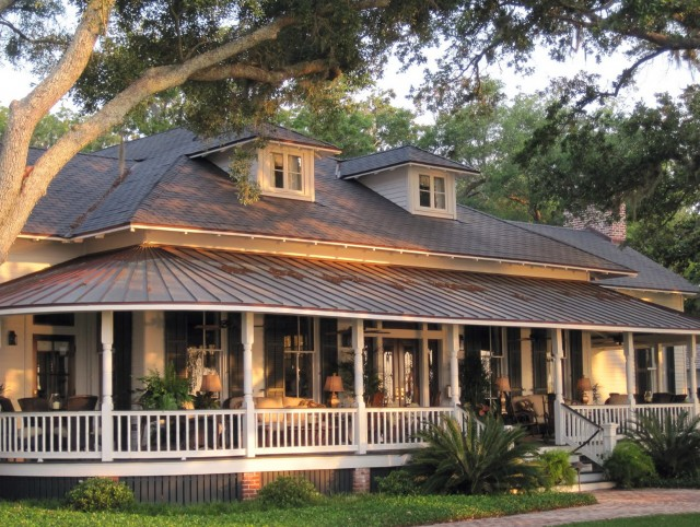 One Story Farmhouse Plans With Porches