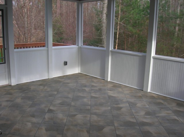 Outdoor Porch Flooring Ideas