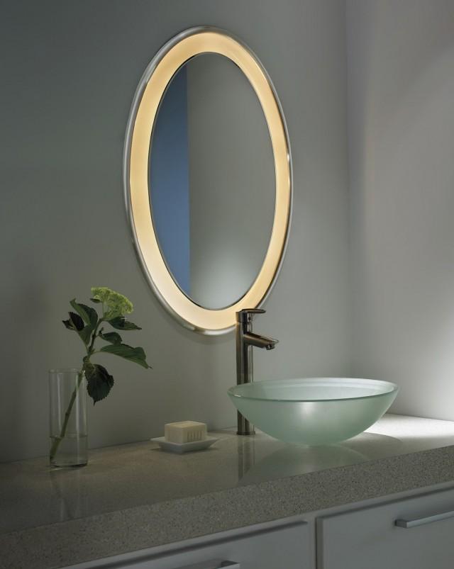 Oval Bathroom Vanity Mirrors