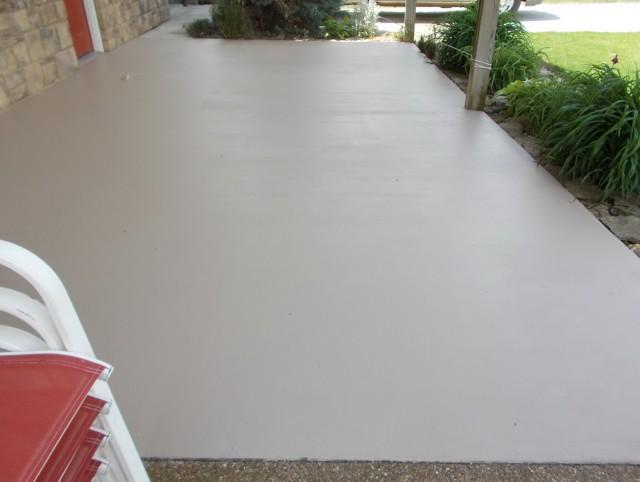 Painting Concrete Front Porch