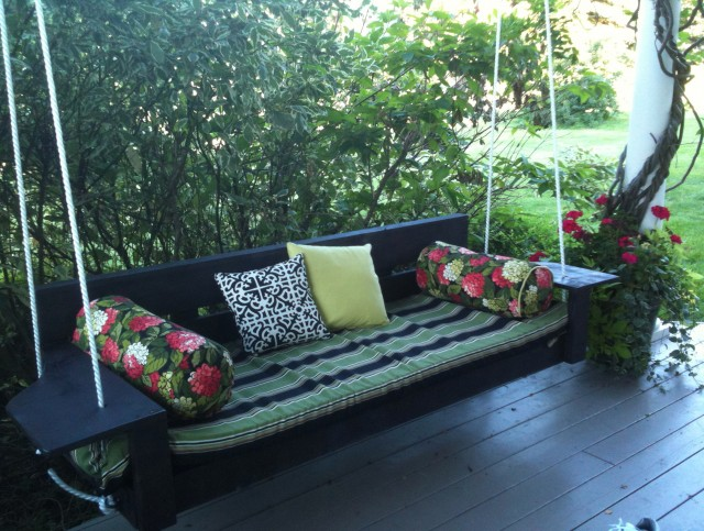 Porch Bed Swings Plans