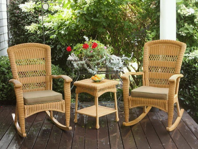 Porch Rocking Chair Set