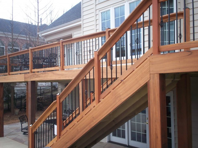 Porch Stair Railing Code