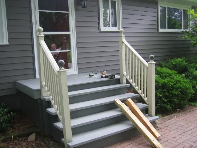 Porch Step Railing Kits