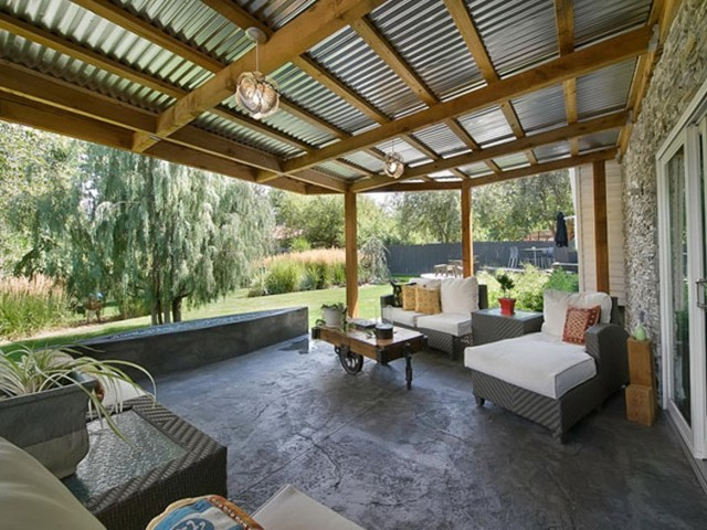 Porch Tin Roof Ideas