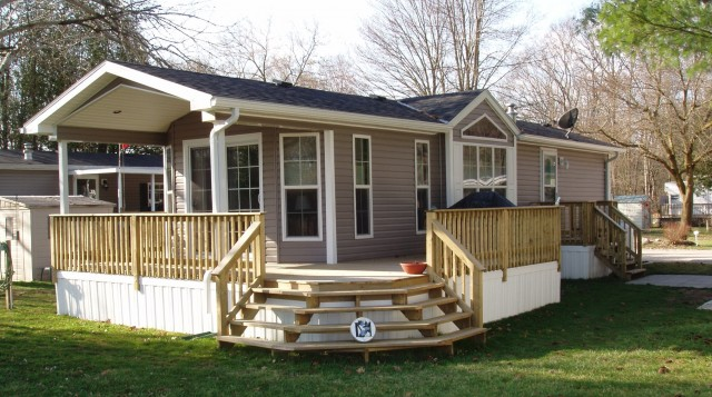 Porches And Decks For Mobile Homes