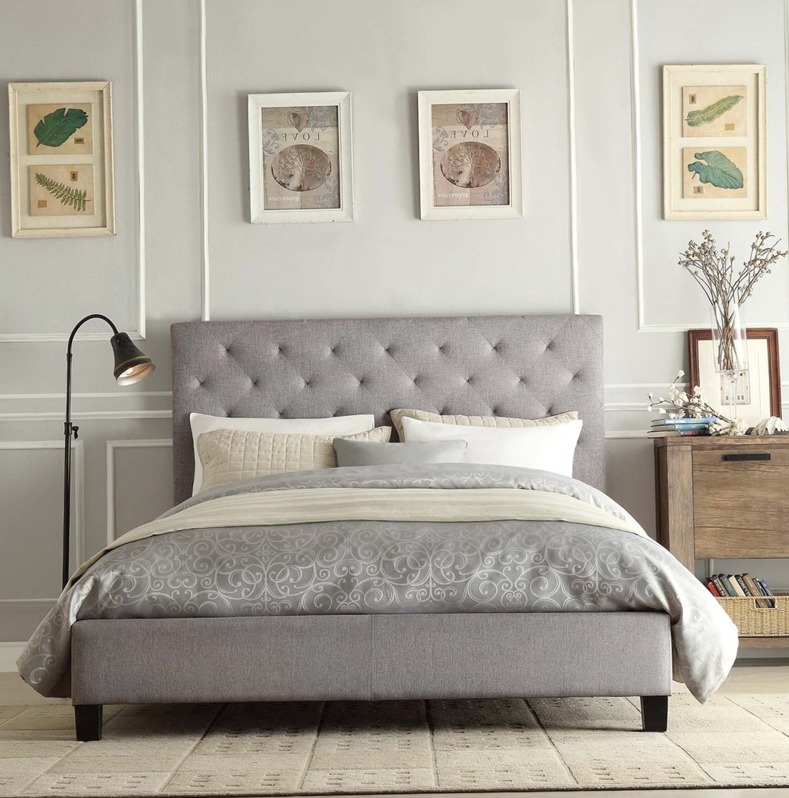 Queen Bed Headboard Designs