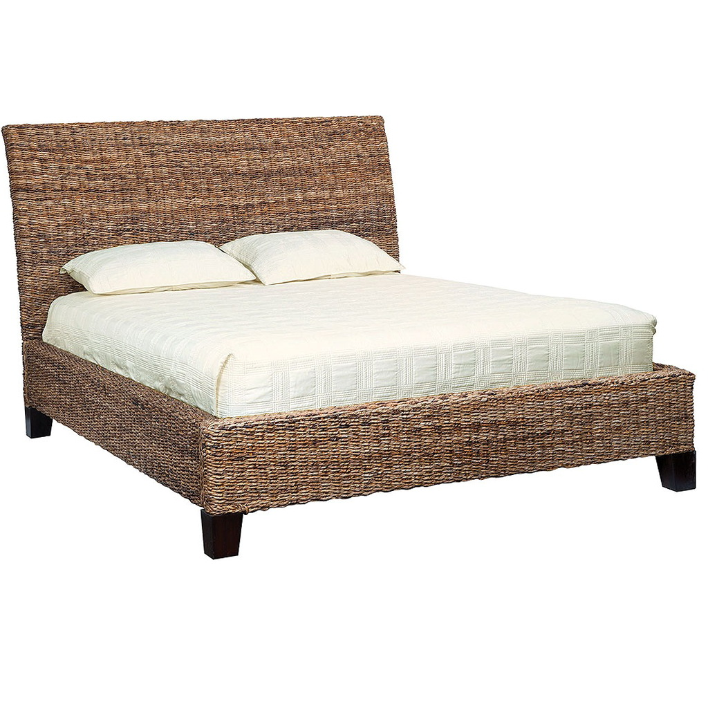 Rattan Headboard King Size
