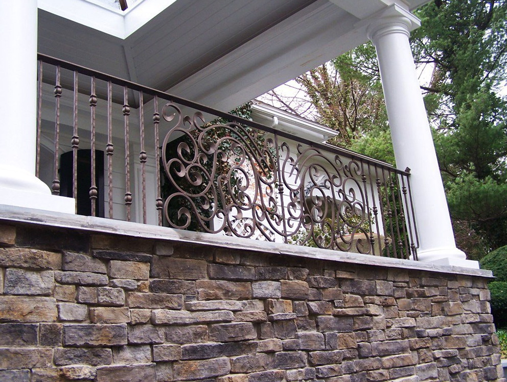 Replacing Wrought Iron Porch Columns Home Design Ideas