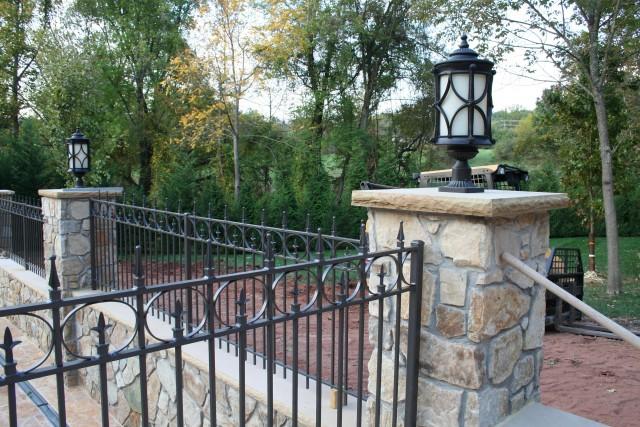 Rod Iron Porch Railing