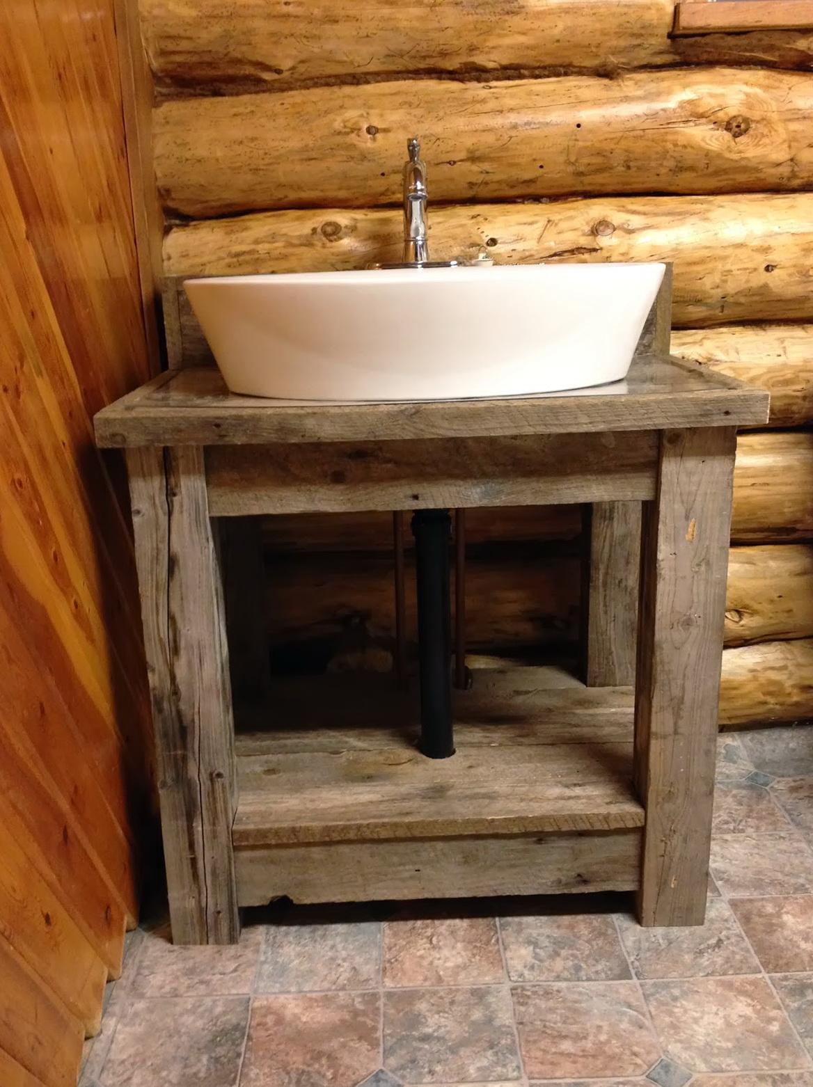 Rustic bathroom vanities for sale home design ideas for Bath vanity sale