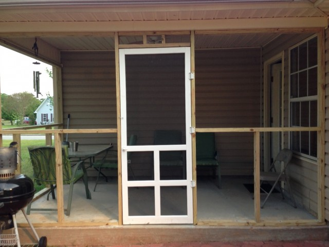 Screen Porch Doors With Pet Door