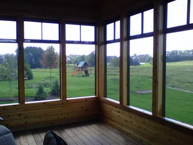 Screen Porch Panels Windows