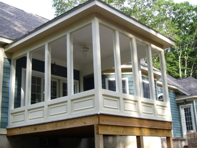 Screen Porch Plans Do It Yourself