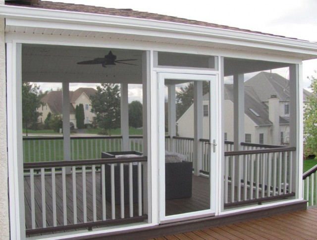 Screened In Porch Deck Designs