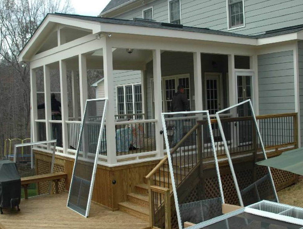 screened in porch designs for houses free design plans screen photos