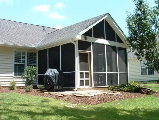 Screened In Porch Plans Free