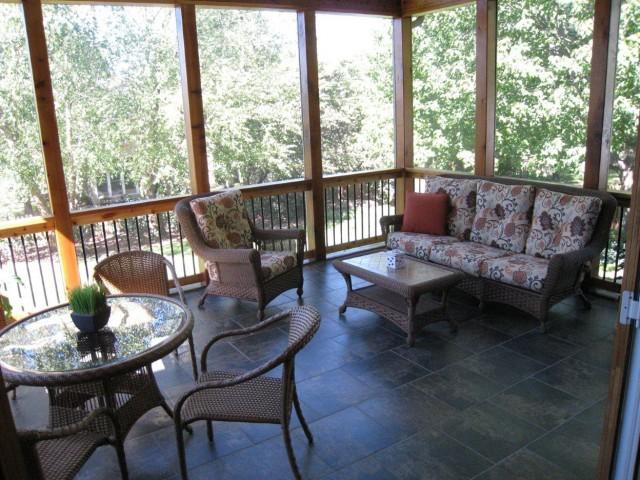 Screened Porch Flooring Options