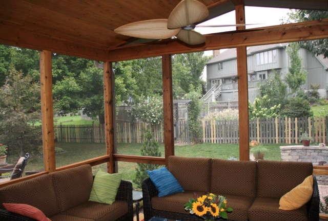 Shed Roof Screened Porch Plans