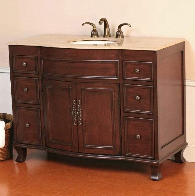 Single Bathroom Vanity Tops