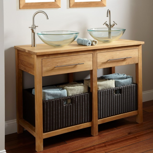 Small Bathroom Vanity With Bowl Sink