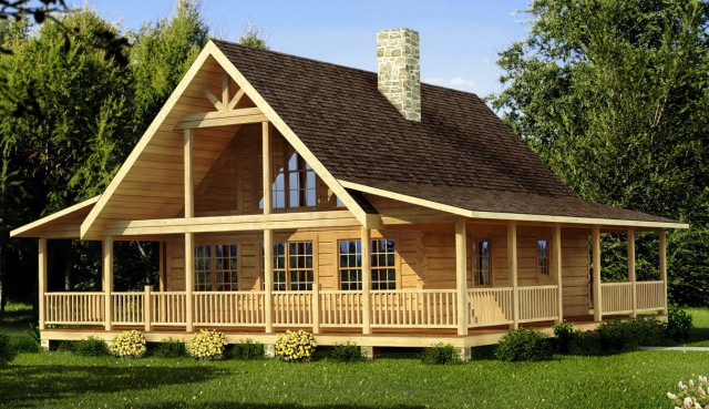 Small Cabin Floor Plans Wrap Around Porch