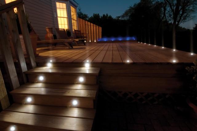 Solar Powered Porch Lights
