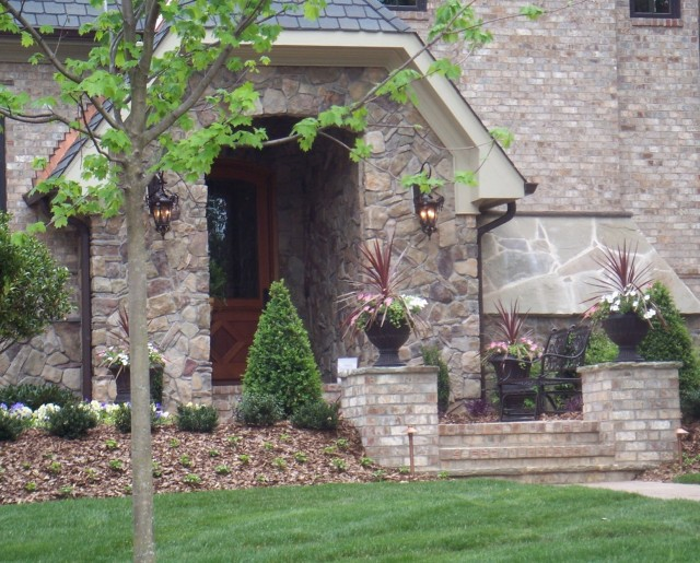 Stone Front Porch Steps Designs