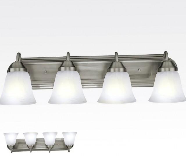 Vanity Light Fixtures Brushed Nickel