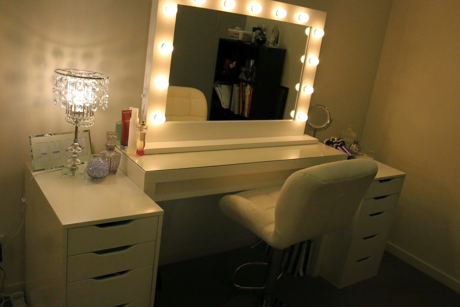 Vanity Mirror With Lights Ikea | Home Design Ideas
